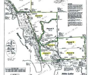 Oneida County, Lincoln County, Price County Residential Lots & Land For Sale: Off Squaw Lake Rd