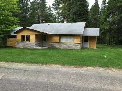Forest County, Iron Wi County, Langlade County, Lincoln County, Oneida County, Vilas County Single Family Home For Sale: 5538 Riverview Dr