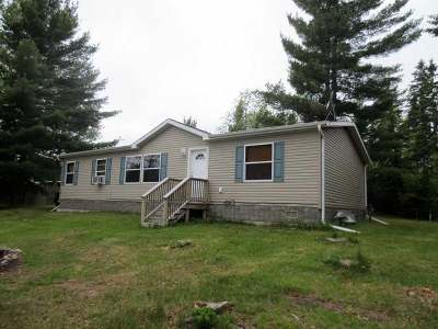 Forest County, Iron Wi County, Langlade County, Lincoln County, Oneida County, Vilas County Single Family Home For Sale: 5692 Hwy 17