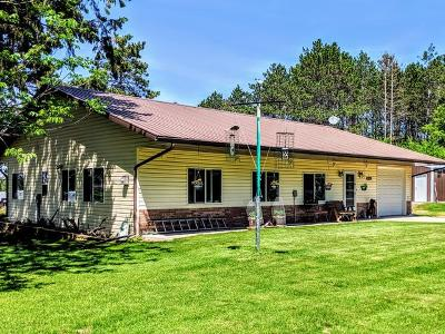 Single Family Home For Sale: N8075 Wilson Flowage Rd E