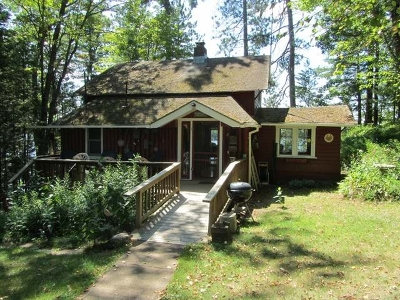 Minocqua Single Family Home For Sale: 11125 Kilawee Rd