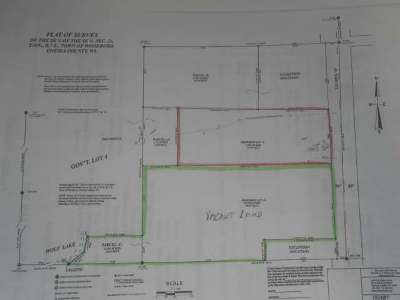 Crescent, Newbold, Pelican, Pine Lake, Rhinelander City, Sugar Camp, Woodboro Residential Lots & Land For Sale: Near Hwy 8