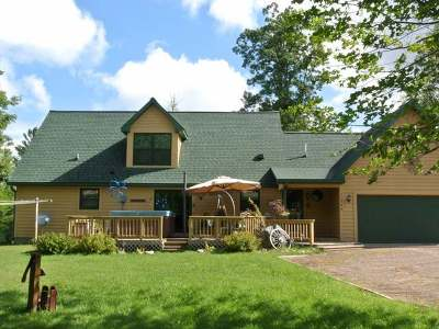 Minocqua Single Family Home For Sale: 11564 Back Bay Rd