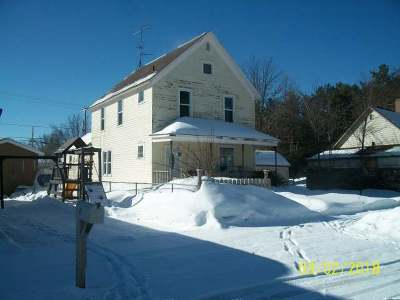Tomahawk Single Family Home For Sale: 23 River St
