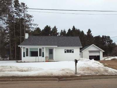 Antigo WI Single Family Home For Sale: $77,500