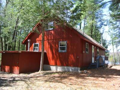 Forest County, Iron Wi County, Langlade County, Lincoln County, Oneida County, Vilas County Single Family Home For Sale: 14176 Crappie Ln