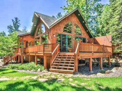 Minocqua WI Single Family Home For Sale: $895,000