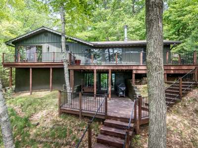 Minocqua WI Single Family Home For Sale: $599,999
