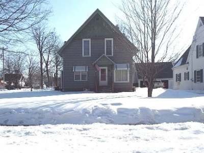 Antigo WI Single Family Home Active O/C: $89,900