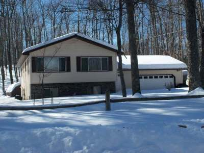 Minocqua WI Single Family Home Active O/C: $149,900