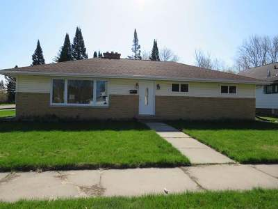 Antigo WI Single Family Home For Sale: $95,500
