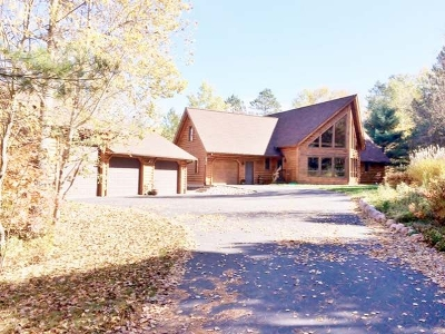 Minocqua Single Family Home For Sale: 7208 Ottertail Ln
