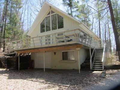 Lake Tomahawk Single Family Home For Sale: 8041 Rainbow Rd
