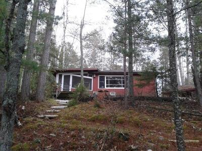 Forest County, Iron Wi County, Langlade County, Lincoln County, Oneida County, Vilas County Single Family Home For Sale: 5935 High Lake Rd