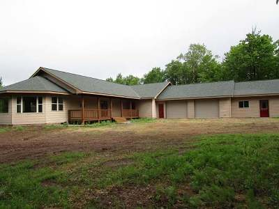 Iron Wi County Single Family Home For Sale: 11974 Cth C