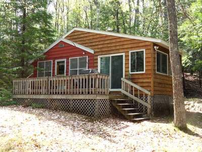 Forest County, Iron Wi County, Langlade County, Lincoln County, Oneida County, Vilas County Single Family Home For Sale: 8156 Long Lake Rd S