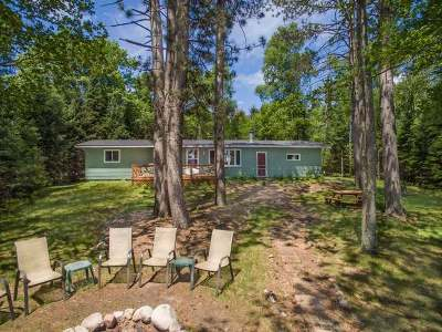 Vilas County Single Family Home For Sale: 7635 Found Lake Rd