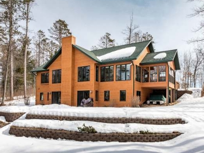 Minocqua WI Single Family Home Active O/C: $539,000