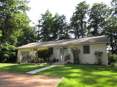 Mercer Single Family Home For Sale: 5096n Stafford Point Rd