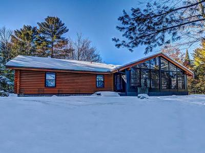 Eagle River WI Single Family Home For Sale: $339,900