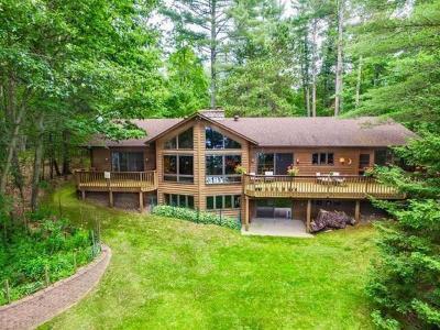 Eagle River Single Family Home For Sale: 1915 Carpenter Lake Rd E