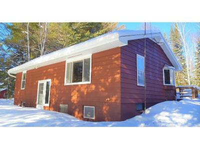 Minocqua Single Family Home For Sale: 8979 Arnold Stock Ln