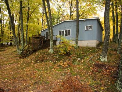 Forest County, Iron Wi County, Langlade County, Lincoln County, Oneida County, Vilas County Single Family Home For Sale: 2939 Wausau Rd