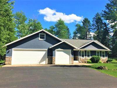 Price County Single Family Home Active O/C: N10432 Solberg Lake Rd W