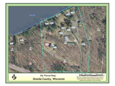 Forest County, Iron Wi County, Langlade County, Lincoln County, Oneida County, Vilas County Condo/Townhouse For Sale: 8225 Maplewood Ln