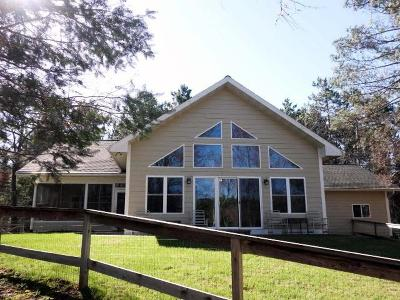 Minocqua Single Family Home For Sale: 10564 Plantation Pines Dr