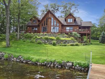 Minocqua WI Single Family Home Active O/C: $1,299,000