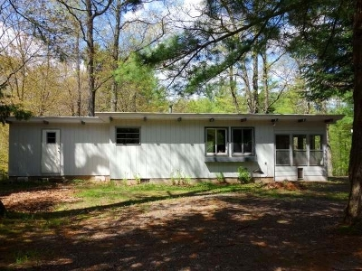 Minocqua Single Family Home For Sale: 9720 Old Hwy 70