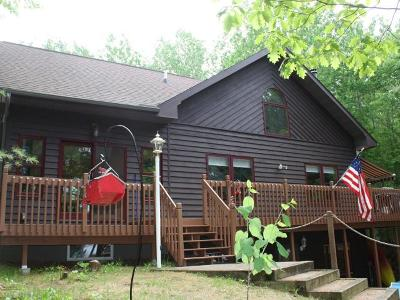 Minocqua WI Single Family Home For Sale: $595,000