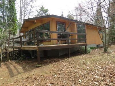 Forest County, Iron Wi County, Langlade County, Lincoln County, Oneida County, Vilas County Single Family Home For Sale: 3280 Cth C