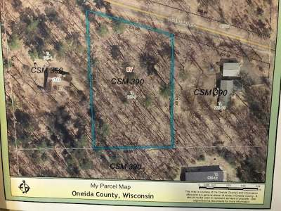 Three Lakes Residential Lots & Land For Sale: Near1713 Helen Lake Rd