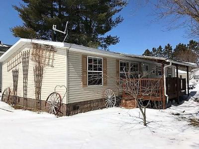 White Lake Single Family Home For Sale: 614 School St