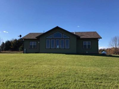 Aniwa, Elcho, Summit Lake, Bryant, Deerbrook, Elton, Lily, Pearson, Phlox, Pickerel, Polar, White Lake, Birnamwood Single Family Home For Sale: W12696 Cth C