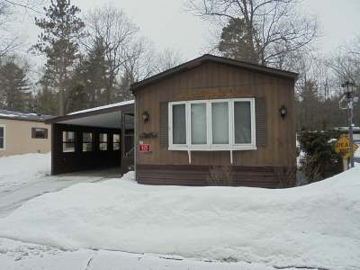 Eagle River WI Single Family Home For Sale: $15,000