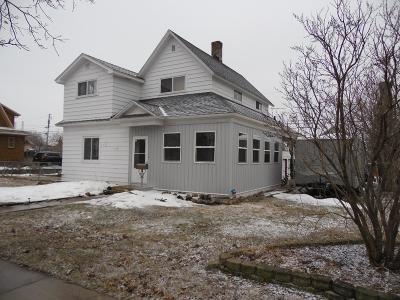 Merrill Single Family Home Active O/C: 1801 1st St E
