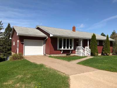 Rhinelander WI Single Family Home For Sale: $159,900
