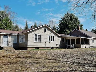 Eagle River WI Single Family Home For Sale: $195,000