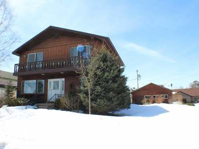 Eagle River WI Single Family Home For Sale: $110,000