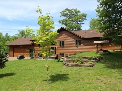 Lac Du Flambeau WI Single Family Home For Sale: $489,500