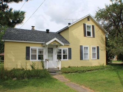 Three Lakes Single Family Home For Sale: 1806 Anderson St