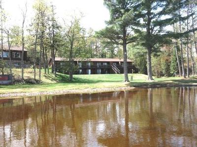 Forest County, Iron Wi County, Langlade County, Lincoln County, Oneida County, Vilas County Condo/Townhouse For Sale: 12949 Frying Pan Camp Ln #17