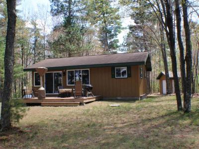Lac Du Flambeau WI Single Family Home For Sale: $289,000