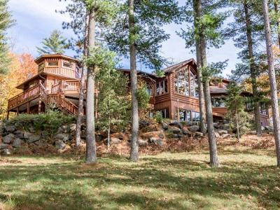 Minocqua WI Single Family Home For Sale: $1,895,000