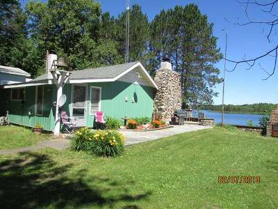Minocqua Single Family Home For Sale: 13580 Indian Point Rd