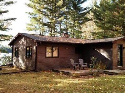 Forest County, Iron Wi County, Langlade County, Lincoln County, Oneida County, Vilas County Single Family Home For Sale: 2379 Ross Allen Lake Ln E