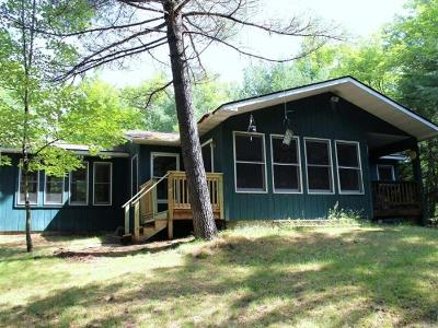 Forest County, Iron Wi County, Langlade County, Lincoln County, Oneida County, Vilas County Single Family Home For Sale: 1964 Mueller Dr